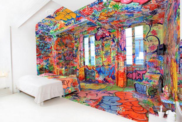 La habitación del pánico del hotel Au Vieux Panier de Marsella