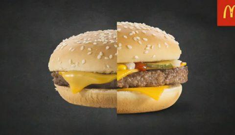 Este es el trabajo que hay detrás de la fotografía de una hamburguesa de McDonald's