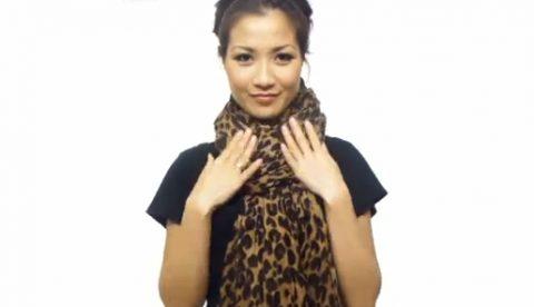 25 formas de colocarse un pañuelo en el cuello