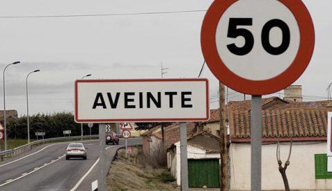 Aveinte, un pueblo de Ávila con el límite de velocidad a cincuenta km/h
