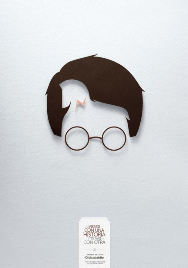 Harry Potter se convierte en el Caballo de Troya