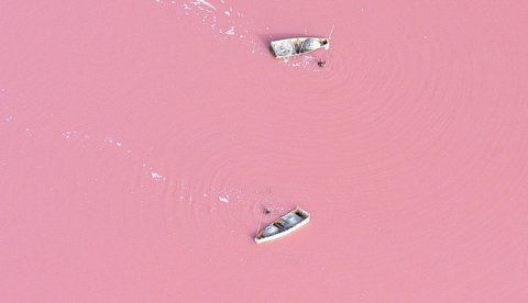 El Lago Rosa de Senegal