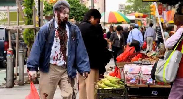 ¿Podrían vivir los zombies con los humanos?