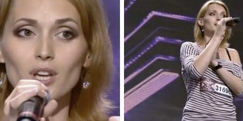 Los jueces de Factor X mandan parar de cantar a una chica porque sospecharon que hacía playback y descubren una voz mágica