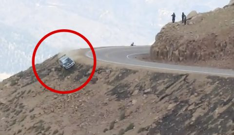Jeremy Foley sufre un brutal accidente en Pikes Peak 2012