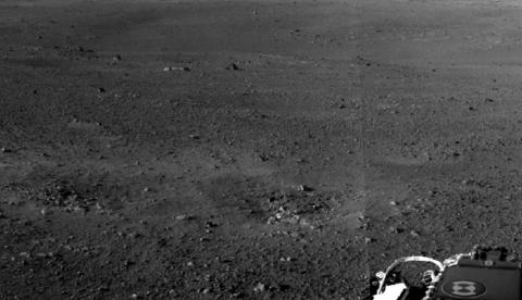 Primera imagen en alta resolución de la superficie de Marte tomada por el Curiosity