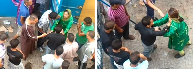 Un español 'rescata' a una mujer marroquí de una agresión en plena calle