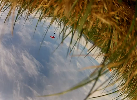 Una cámara GoPro cae desde 3.800 metros y lo graba todo sin romperse