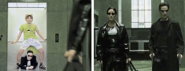 ComPSYlation, recopilación de películas con el tema Gangnam Style de PSY