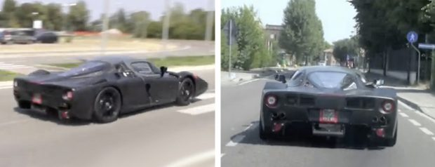 Cazan en vídeo al nuevo Ferrari F70