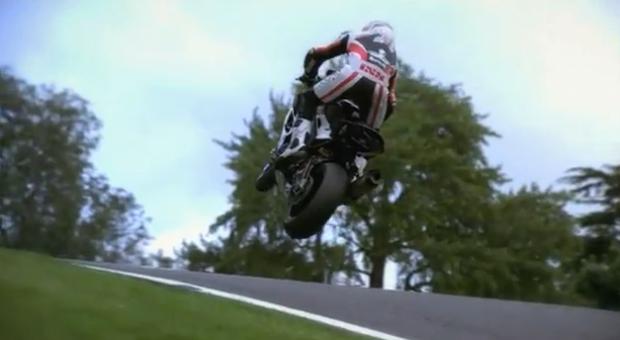 Superbikes volando a cámara lenta