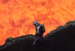 Impresionantes imágenes del volcán Marum