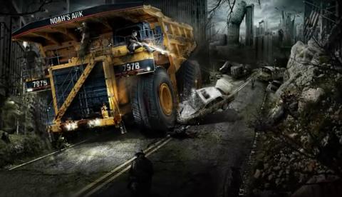 El arte zombie de Alexander Koshelkov con Photoshop