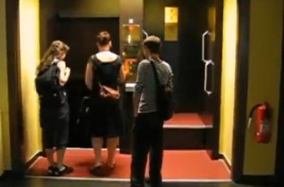 El ascensor que nunca para
