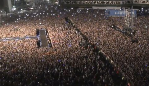Concierto masivo de PSY (Gangnam Style) en Seúl