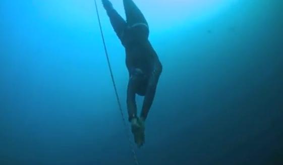 Ashley Futral, nuevo récord mundial de apnea sin aletas