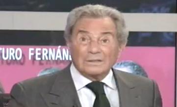 Arturo Fernández: ''No he visto gente más fea que en las manifestaciones''
