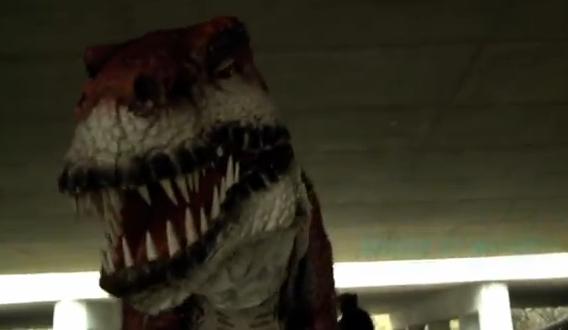La broma de Jurassic Park