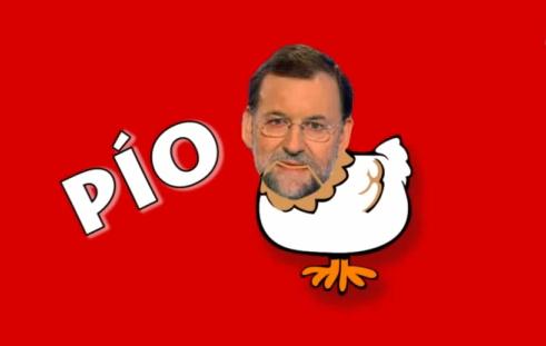 Mariano Rajoy feat. El Pollito Pio