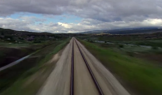 Un viaje en tren por las cuatro estaciones en Noruega