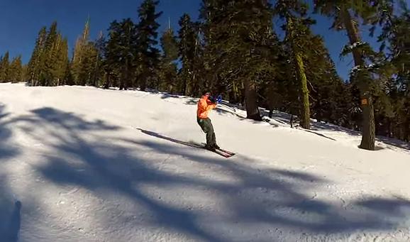 Cualquier día es bueno para esquiar y tocar el trombón a la vez