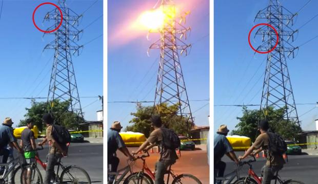 Un hombre muere electrocutado en una torre de alta tensión en Chile