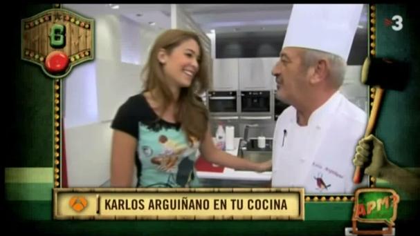 Karlos Arguiñano: ¿En que se parecen una embarazada, una tarta quemada y una cerveza congelada?