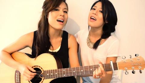 El Gangnam Style que suena mejor que el original. Cover de Jayesslee, dos gemelas australianas