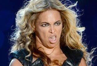 Beyoncé careto
