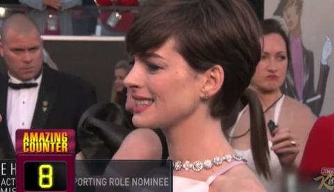 La palabra favorita de los Oscars es ''Amazing''