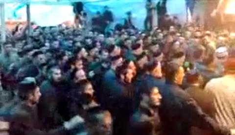 Hipnótica danza folclórica en Chechenia