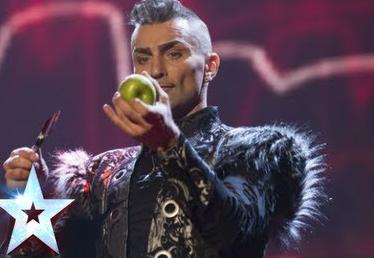 Impresionante actuación de Aaron Crow en la final de Britain's Got Talent