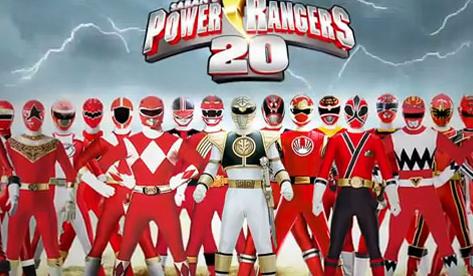 Los 20 años de los Power Rangers en un minuto y medio