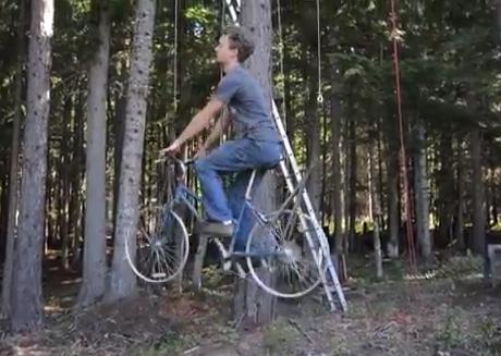 La bicicleta ascensor