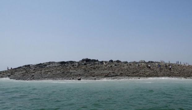 Nace una nueva isla en Pakistán tras el terremoto