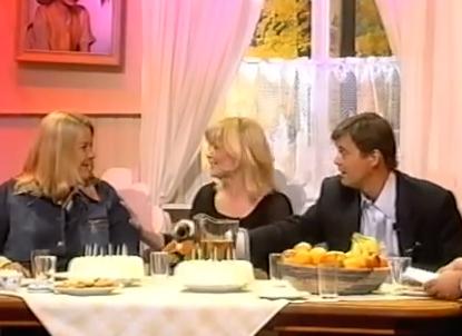 Un programa de televisión reunió a Pippi, Tommy y Annika 35 años después