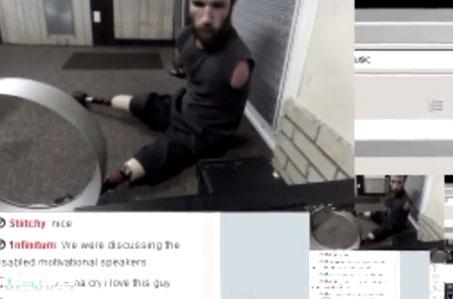Michael ''handi'' Olson: No tiene brazos y es un crack en el Counter Strike