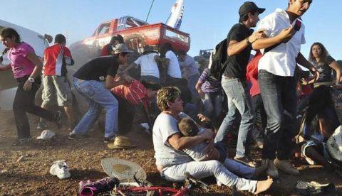 Un 'Monster Truck' arrolla una grada y mata a varias personas en México (vídeo)
