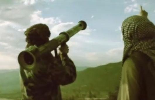 Banksy publica un vídeo en el que los rebeldes disparan a Dumbo