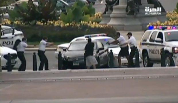 Una mujer es abatida a tiros después de una persecución policial cerca del Capitolio de EEUU
