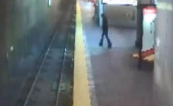 Una mujer sonámbula se lanza a la vías del metro en Massachusetts