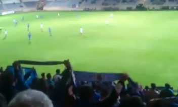 """Afición del Real Oviedo en León: """"En el pozo María Luisa"""""""