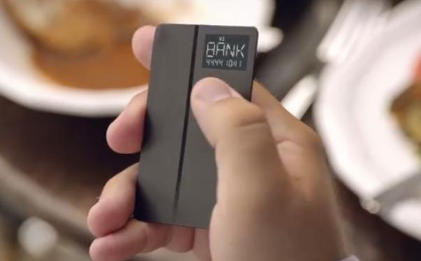 Interesante concepto de una nueva tarjeta de crédito