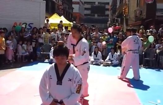 La precisión en el karate lo es todo