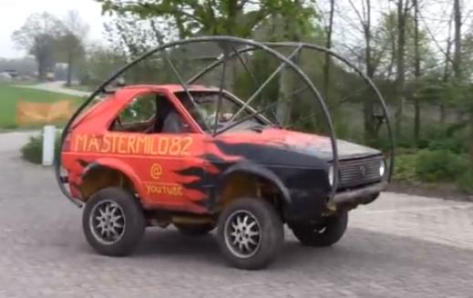 Idea para hacer con tu viejo coche