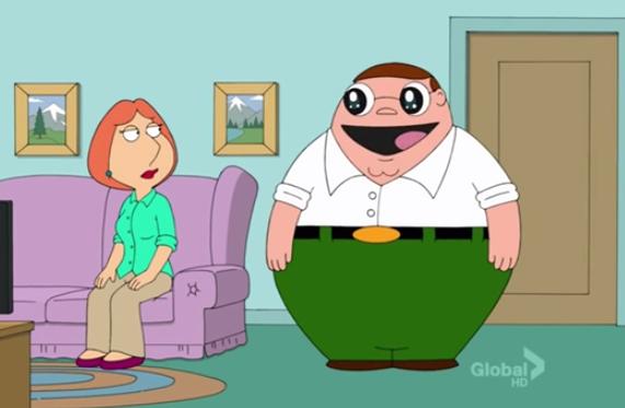 ¿Cómo sería Peter Griffin si lo dibujasen al estilo anime?
