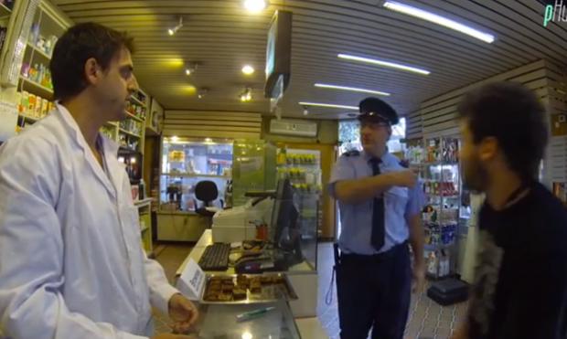 Cámara oculta en una farmacia de Uruguay días antes de que legalizasen la marihuana en el país