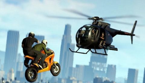 Las acrobacias más espectaculares de GTA V