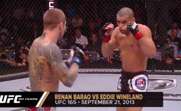 Los mejores 20 KO's de la historia de la UFC