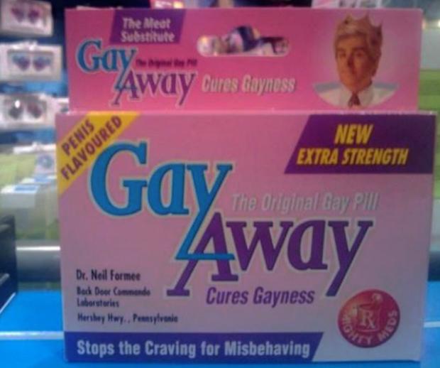 Retiran unas pastillas con sabor a pene que prometían curar la homosexualidad